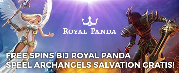 Gratis spins Archangels Salvation gokkast