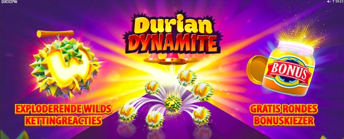 Durian Dynamite slot features