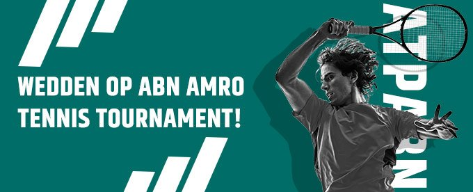Favorieten en betting odds ABN Amro Tennis Tournament
