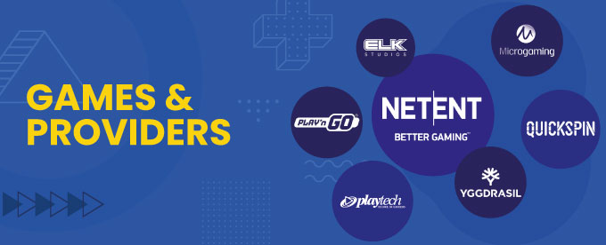 Games & Providers