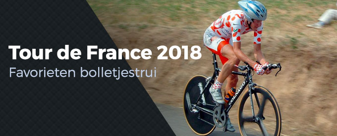 Favorieten bolletjestrui Tour de France 2018