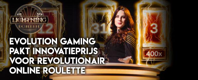 Lightning Roulette pakt innovatieprijs op Global Gaming Awards in Las Vegas