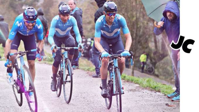 Landa, Nairo, Valverde 2018 I MOVISTAR POWER