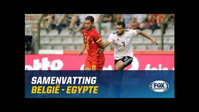 HIGHLIGHTS | België - Egypte