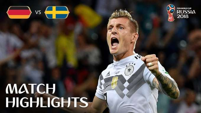 Germany v Sweden - 2018 FIFA World Cup Russia™ - Match 27