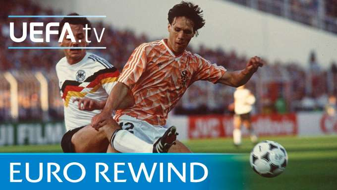 EURO 1988 highlights: Netherlands 2-1 West Germany