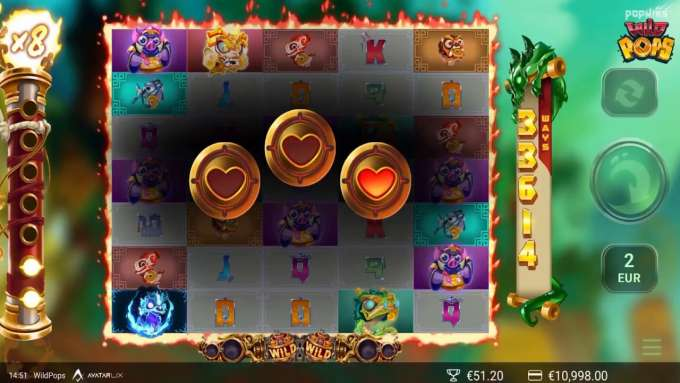 WildPops™ Slots - Game Preview