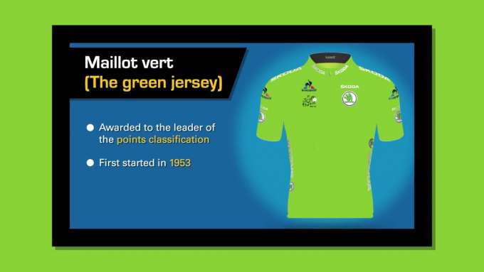 Tour de France guide: the green jersey