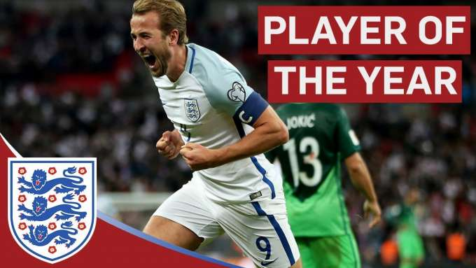 All of Harry Kane's Goals in 2017 | England Player of the Year