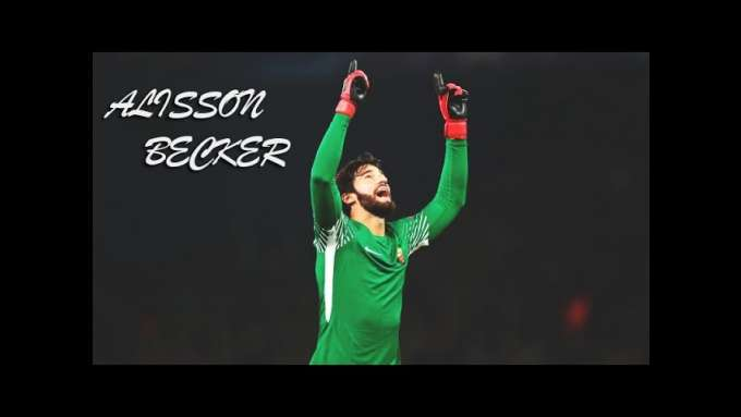 Alisson Becker - AS Roma - Amazing Saves Show 2017/18 - Fantastic Performance