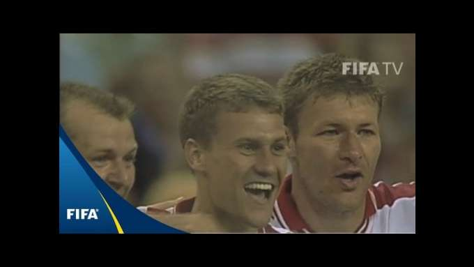 FIFA World Cup moments: Ebbe Sand