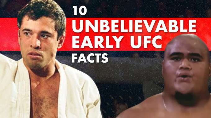 10 Unbelievable Facts About Early UFCs
