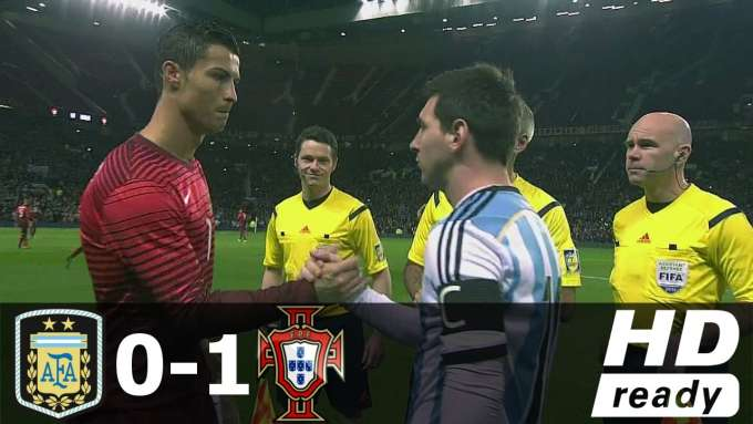 Argentina vs Portugal 0-1 - Extended Match Highlights - Friendly 18/11/2014 HD