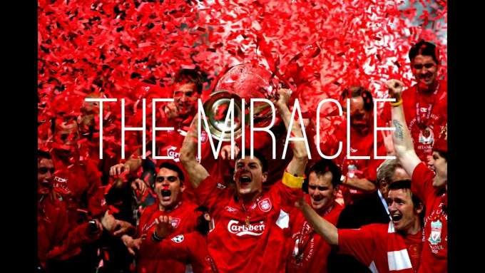 THE MIRACLE - LIVERPOOL FC v AC MILAN - MRCLFCompilations